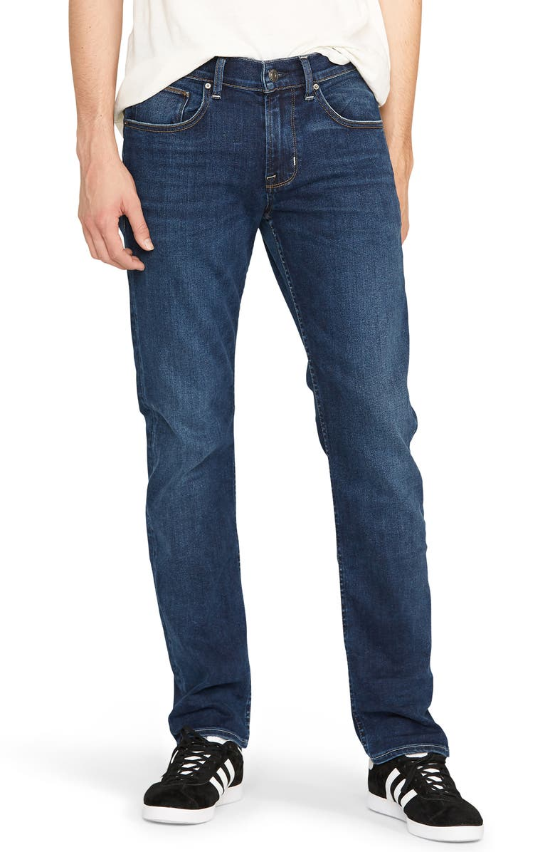 HUDSON JEANS Byron Slim Straight Leg Jeans, Main, color, TACKLE