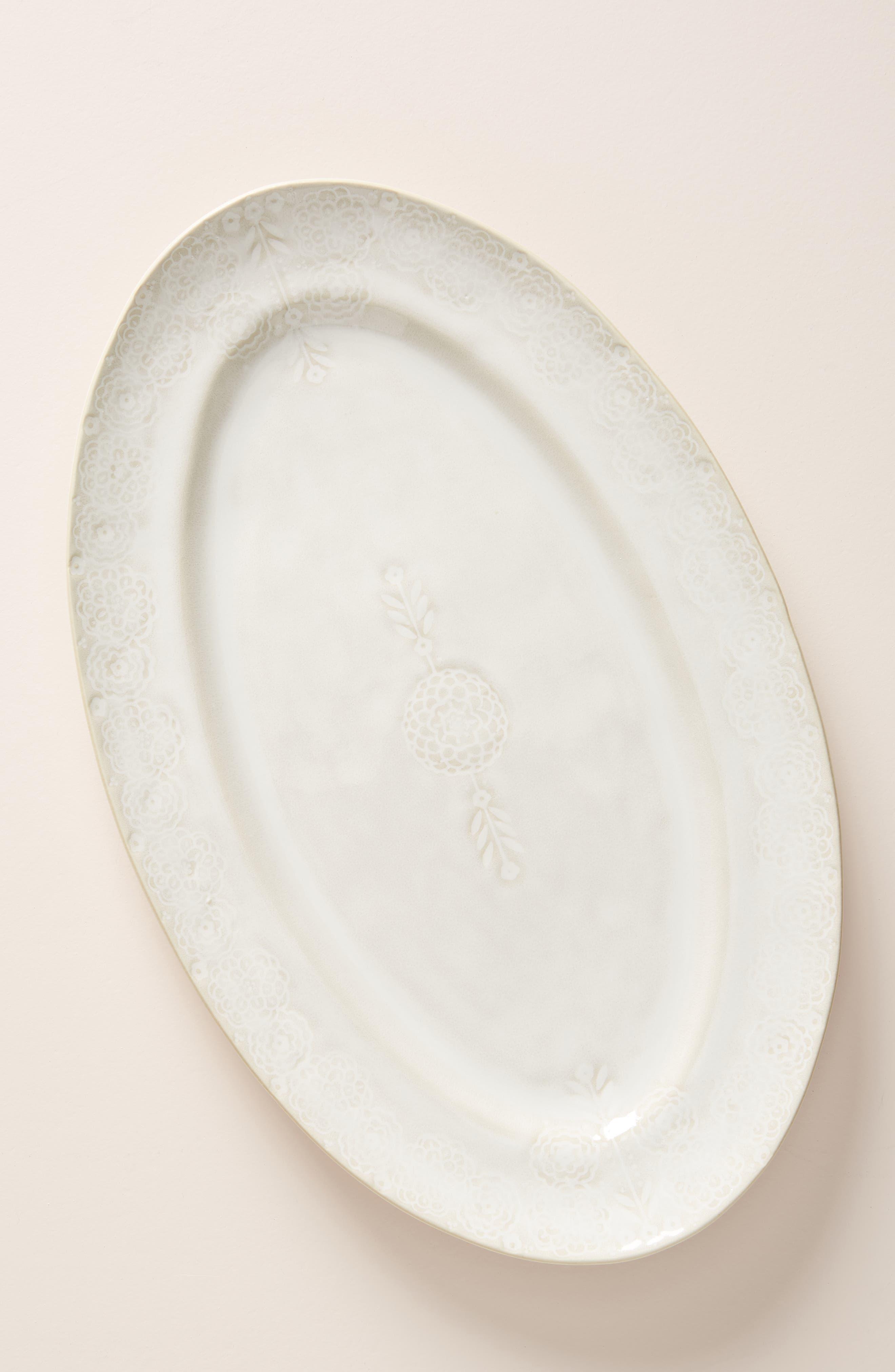 ,                             Veru Platter,                             Main thumbnail 1, color,                             WHITE