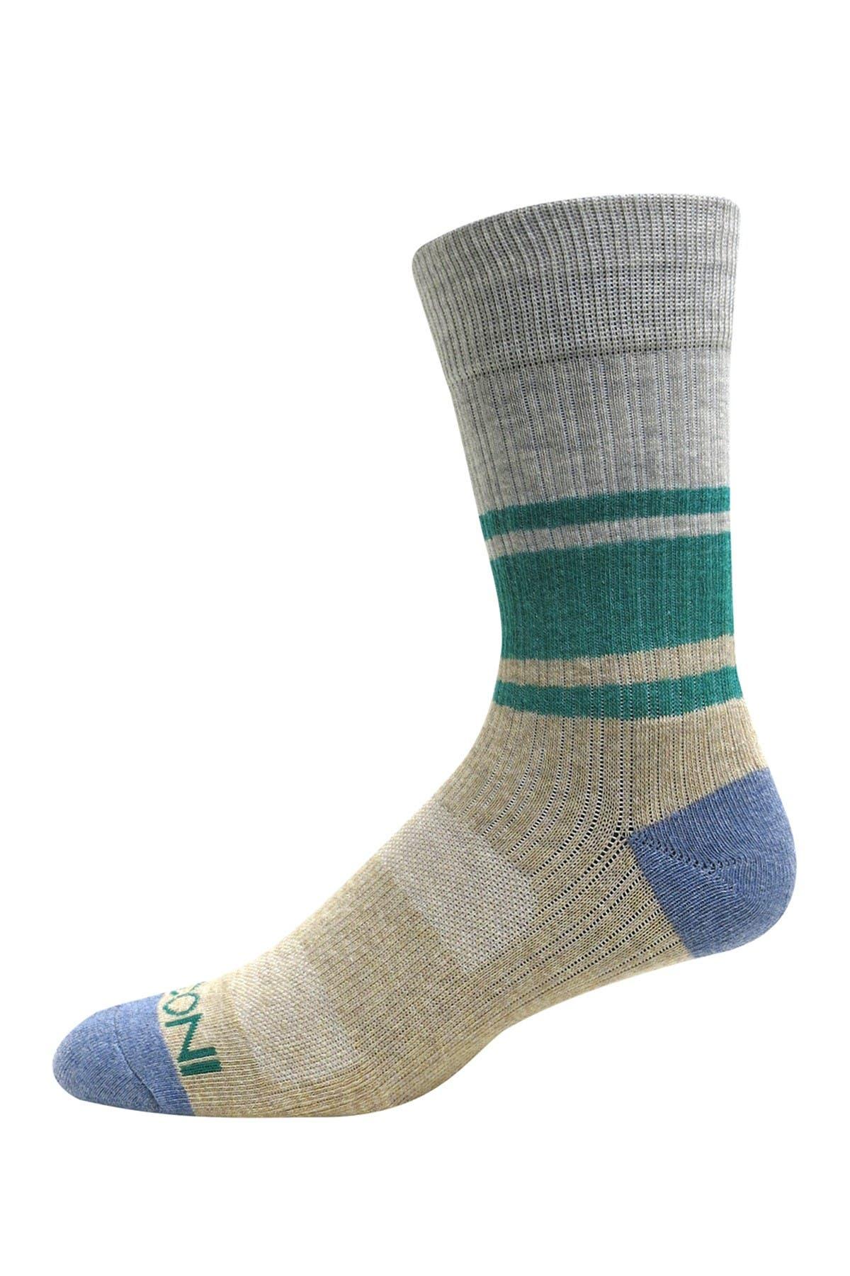 Image of BOCONI Eric Striped Crew Socks