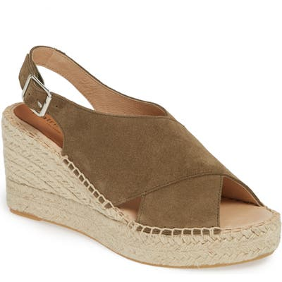 Patricia Green Madeline Espadrille Wedge Sandal, Brown