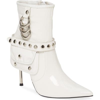 Jeffrey Campbell Stash Bootie- White