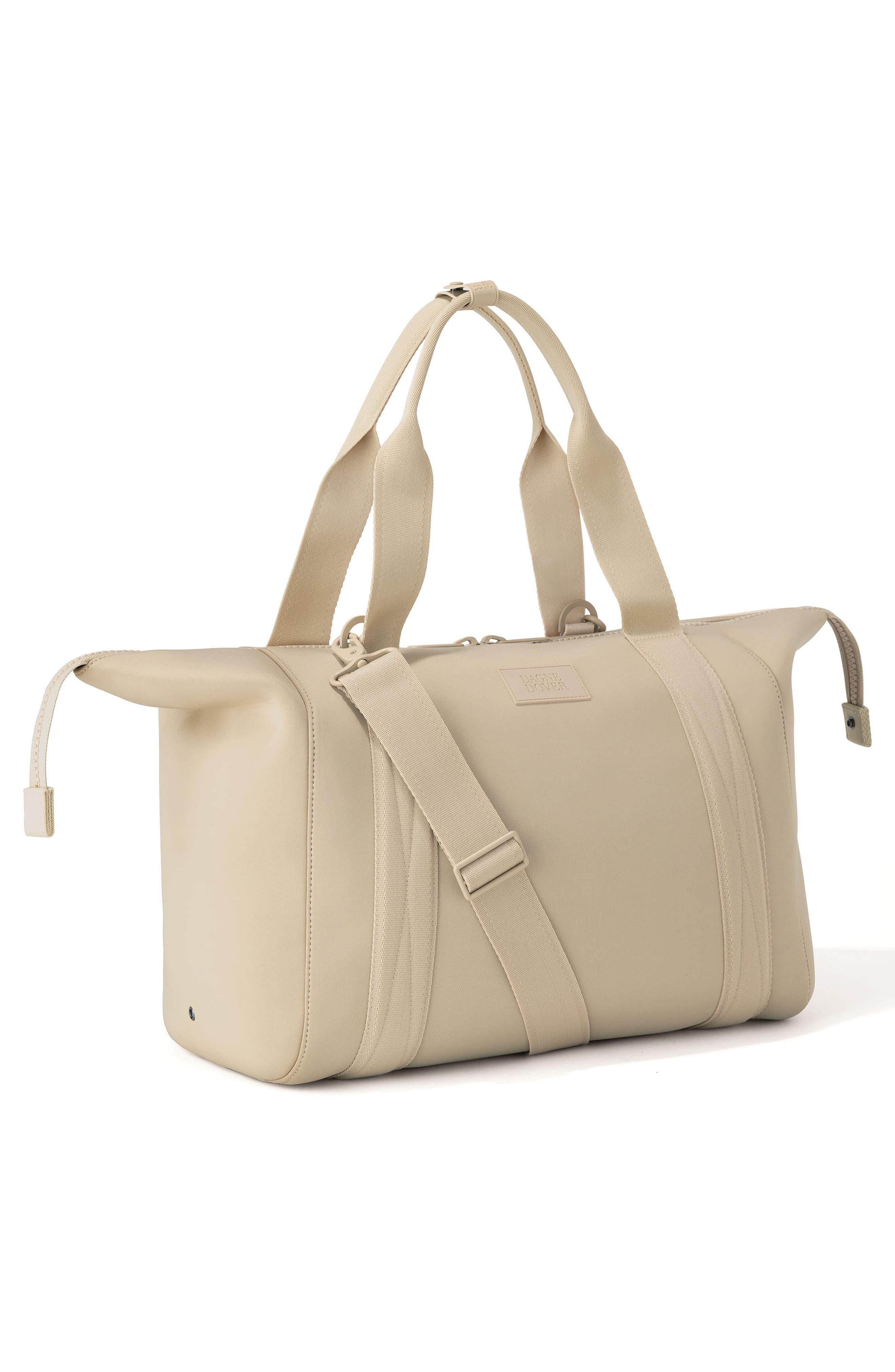 ,                             365 Large Landon Neoprene Carryall Duffle Bag,                             Alternate thumbnail 5, color,                             ALMOND LATTE