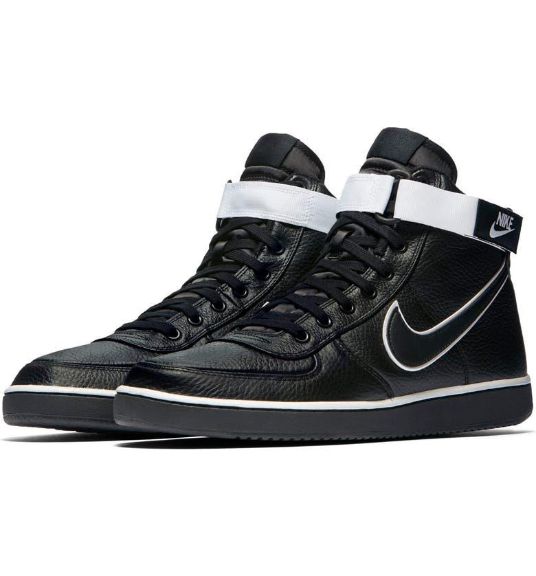 NIKE Vandal High Supreme Leather Sneaker, Main, color, 003