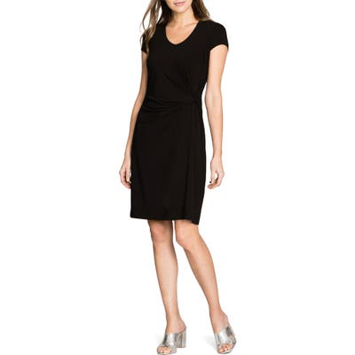 Nic+Zoe Ease Twist Dress, Black