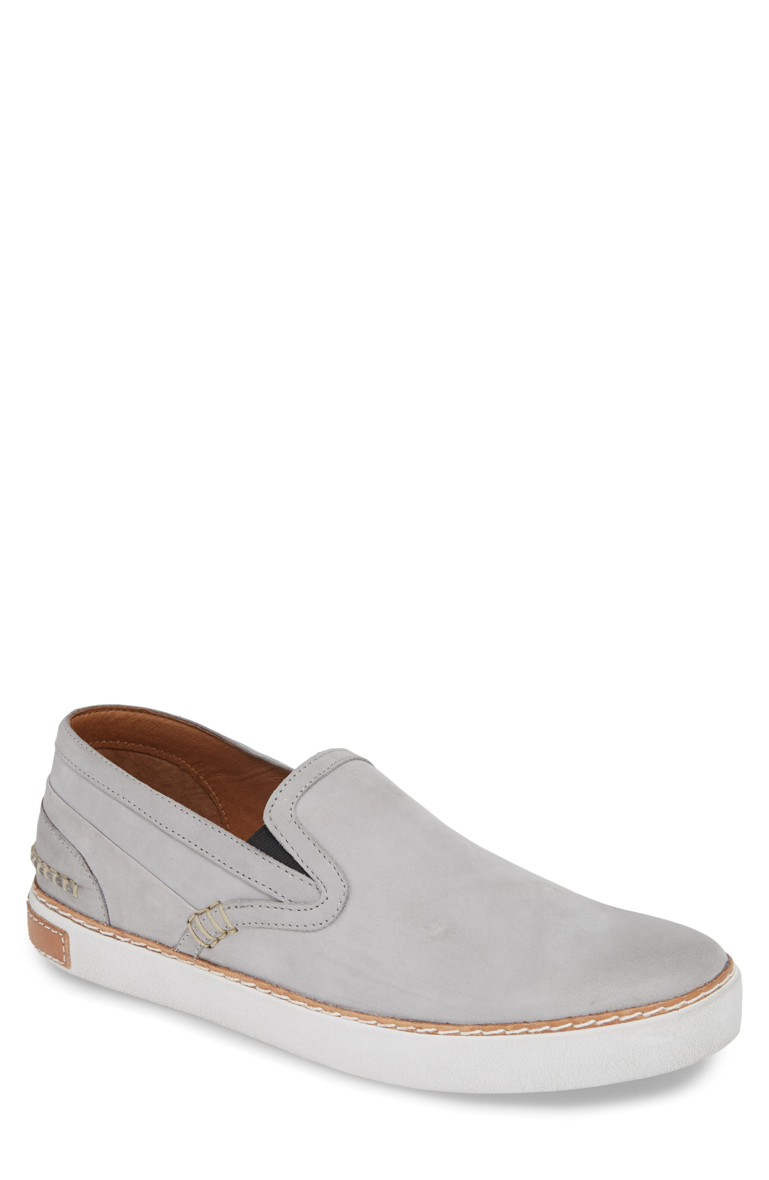 Earthy leather forms a handsome slip-on with laid-back style. Style Name: Blackstone \\\'scm 003\\\' Slip-On (Men). Style Number: 155832 3. Available in stores.
