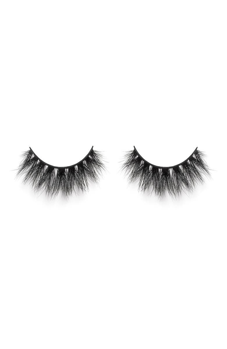 LILLY LASHES Mykonos So Extra 3D Mink False Lashes, Main, color, NO COLOR