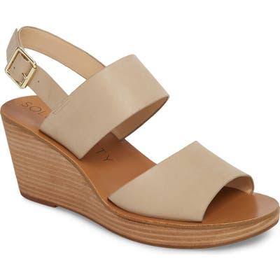 Sole Society Pavlina Platform Wedge Sandal