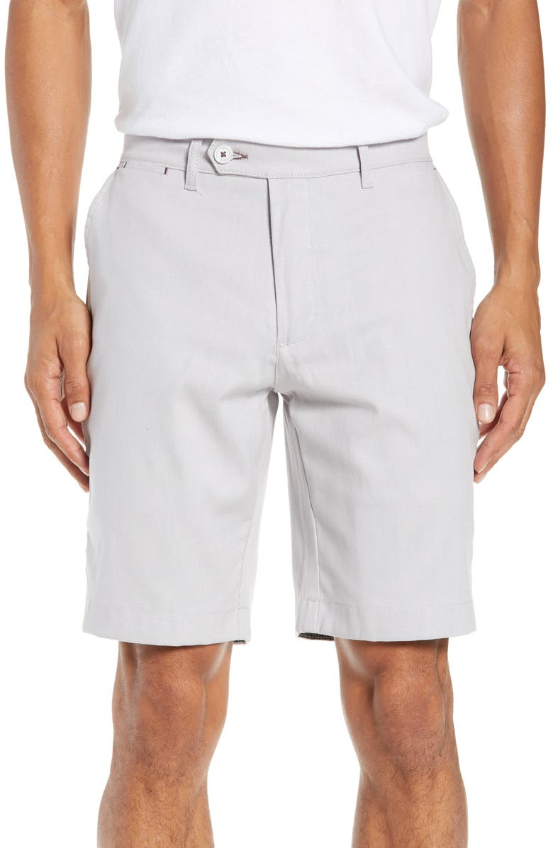 TED BAKER LONDON Beshor Slim Fit Stretch Cotton Shorts, Main, color, 250