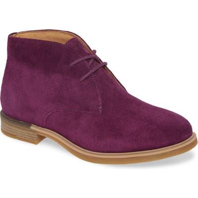 Hush Puppies Bailey Chukka Boot- Purple