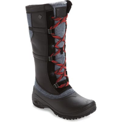 The North Face Shellista Iv Tall Waterproof Insulated Winter Boot- Black