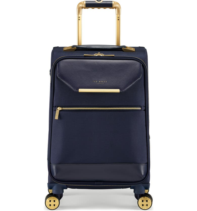 TED BAKER LONDON Small Albany 21-Inch Spinner Suitcase, Main, color, NAVY