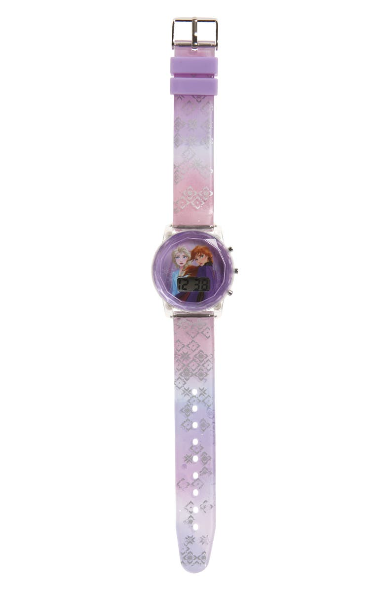 ACCUTIME Disney Frozen Foil Digital Watch, Main, color, 500