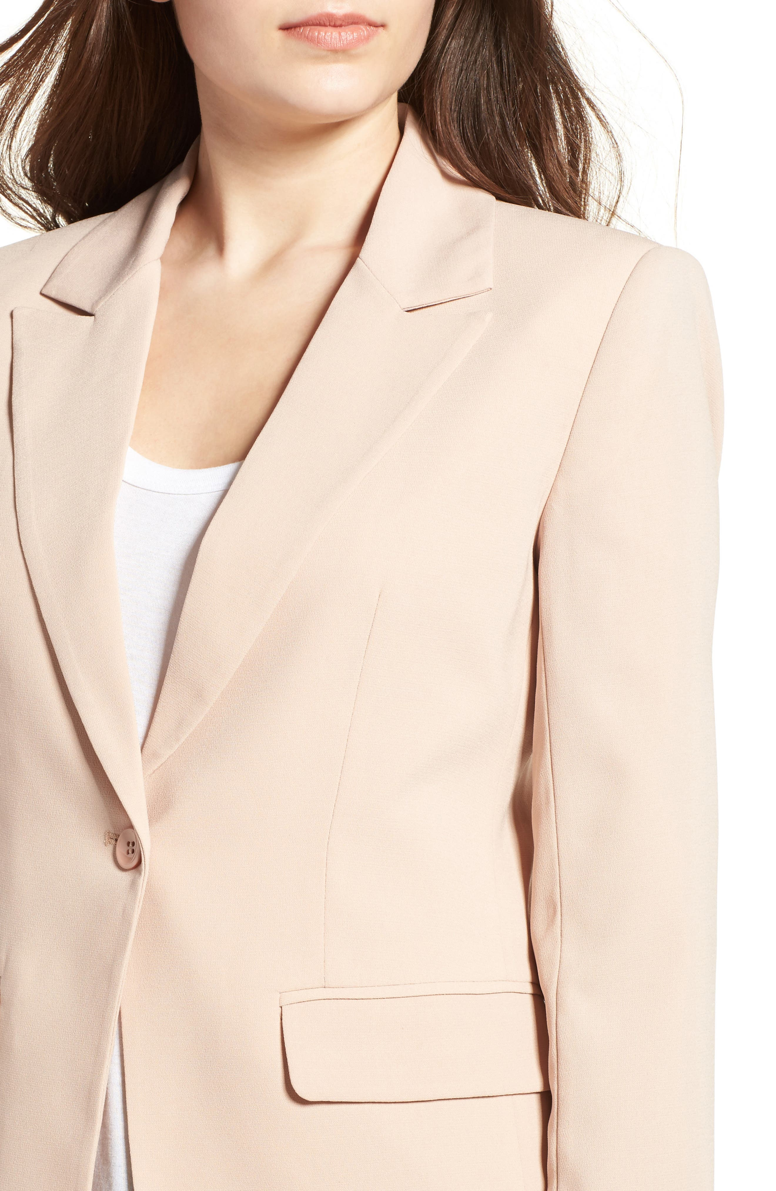 ,                             Structured Blazer,                             Alternate thumbnail 15, color,                             256