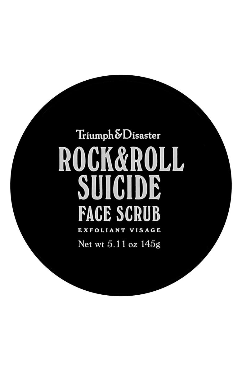 TRIUMPH & DISASTER Rock & Roll Suicide Face Scrub, Main, color, 000