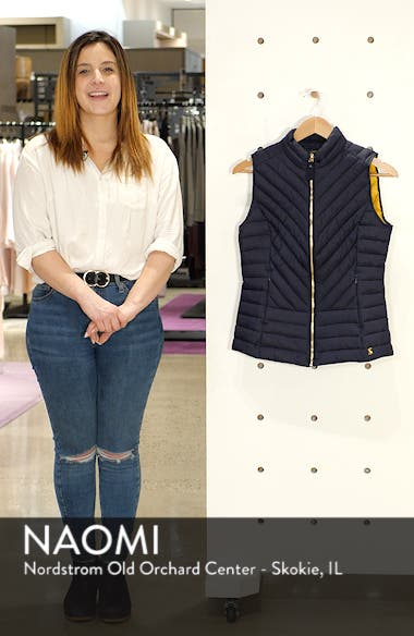Brindley Quilted Vest, sales video thumbnail