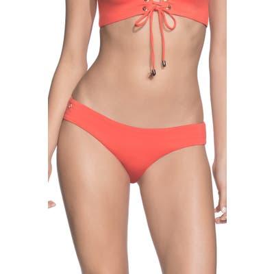Maaji Sublime Signature Reversible Bikini Bottoms, Orange
