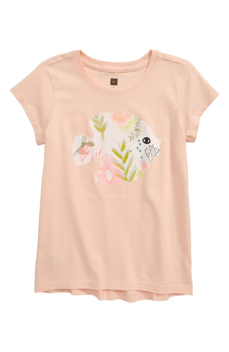TEA COLLECTION Angel Fish Graphic Tee, Main, color, 650
