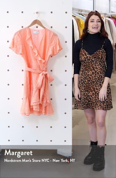 Bianka II Silk Blend Wrap Dress, sales video thumbnail