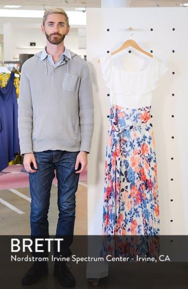 Off the Shoulder Floral Maxi Dress, sales video thumbnail