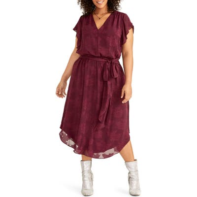 Plus Size Rachel Rachel Roy Sameria Dress, Red