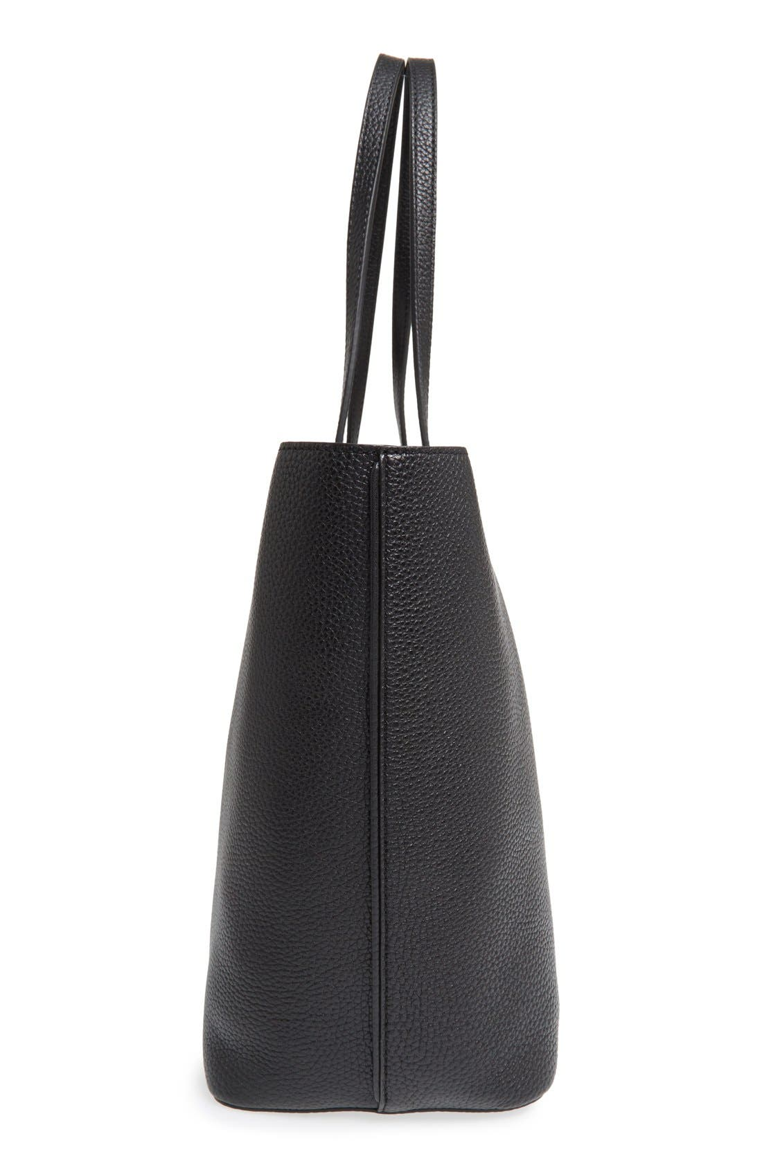 ,                             'Perry' Leather Tote,                             Alternate thumbnail 2, color,                             002