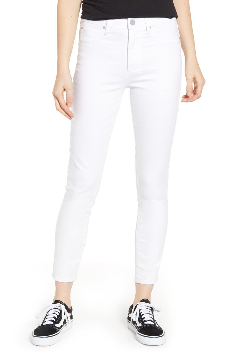 ARTICLES OF SOCIETY Heather Ankle Skinny Jeans, Main, color, 100