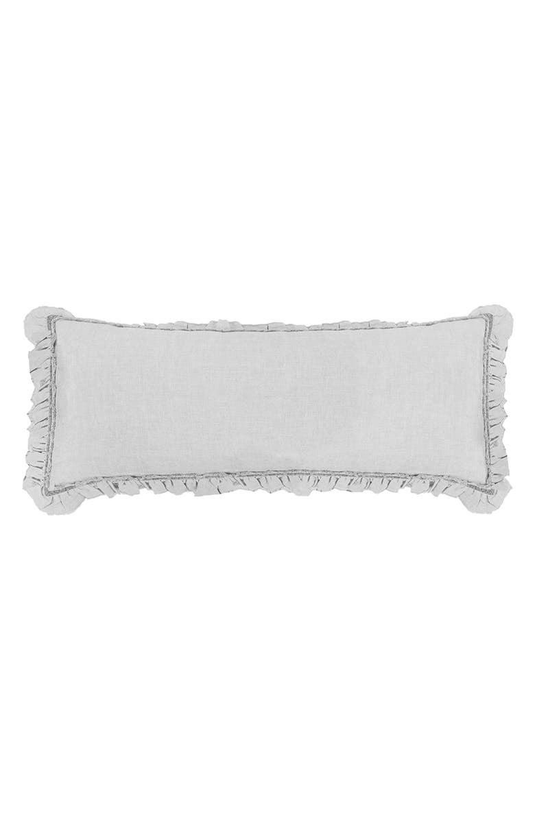 POM POM AT HOME Mathilde Body Pillow, Main, color, SILVER
