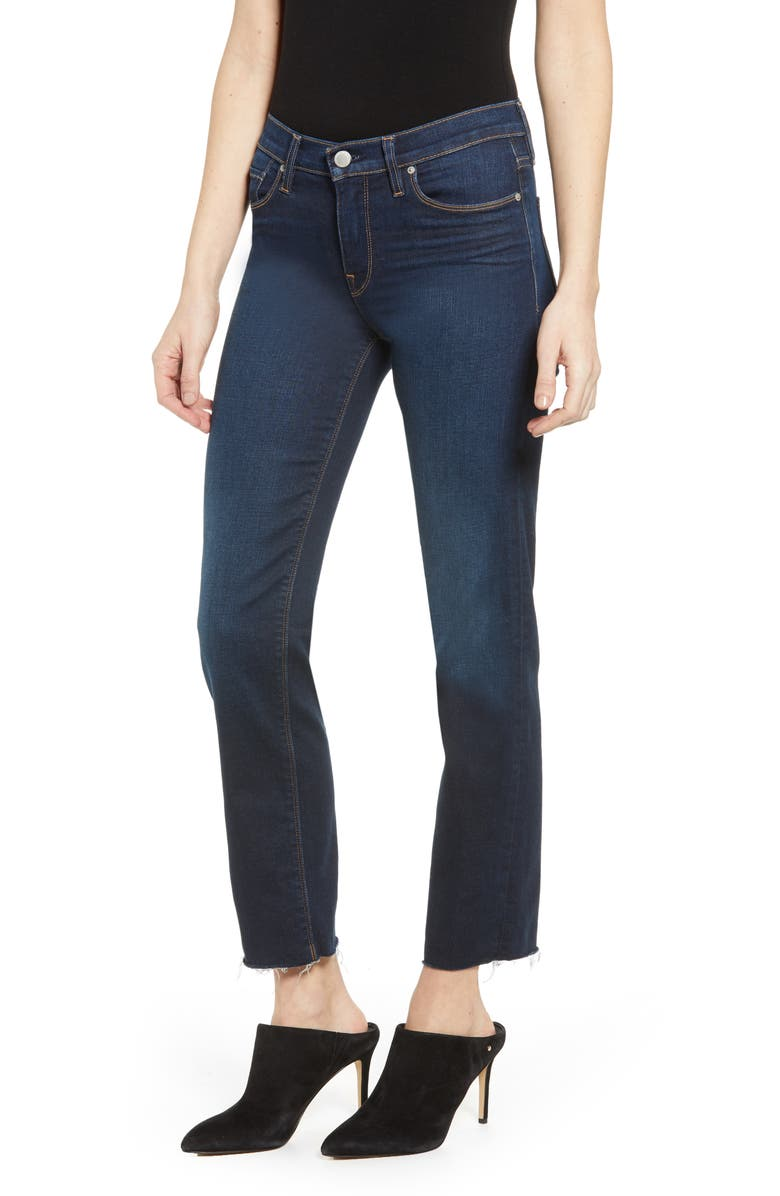 HUDSON JEANS Nico Straight Ankle Jeans, Main, color, ELEVATE