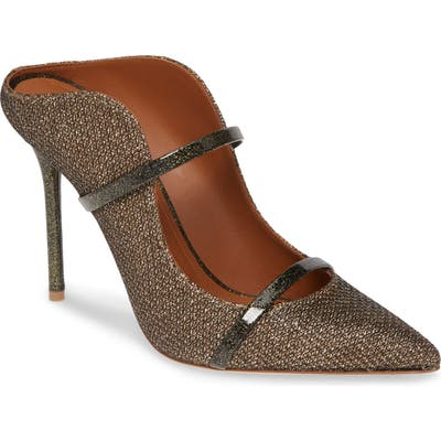 Malone Souliers Maureen Double Band Mule - Metallic (Nordstrom Exclusive)