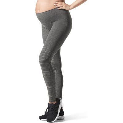 Blanqi Sportsupport Hipster Cuff Support Maternity/postpartum Leggings, Grey