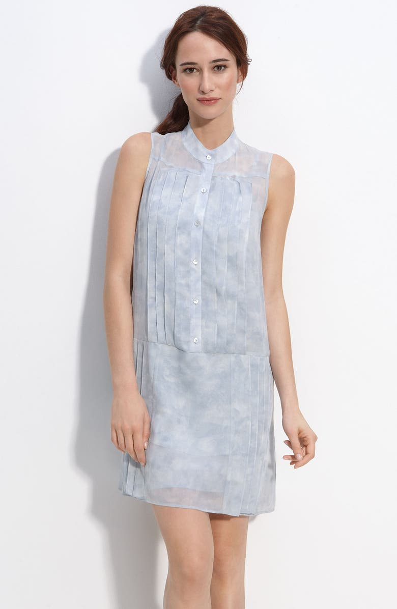 THEORY 'Olim' Pastel Sleeveless Dress, Main, color, 400