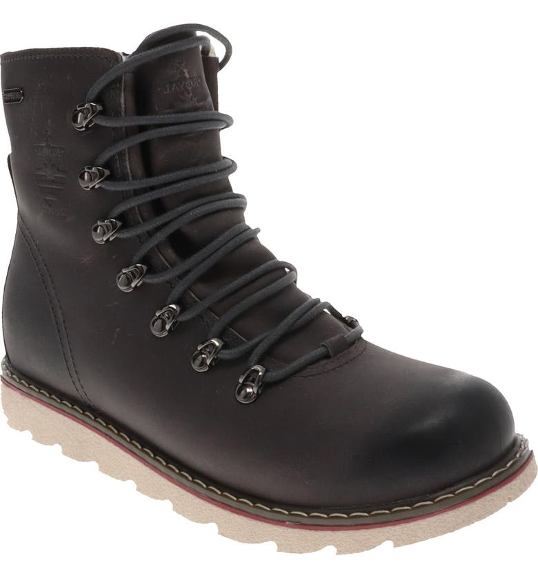 ROYAL CANADIAN Armstrong Waterproof Fleece Lined Boot, Main, color, GREY TANKARD LEATHER