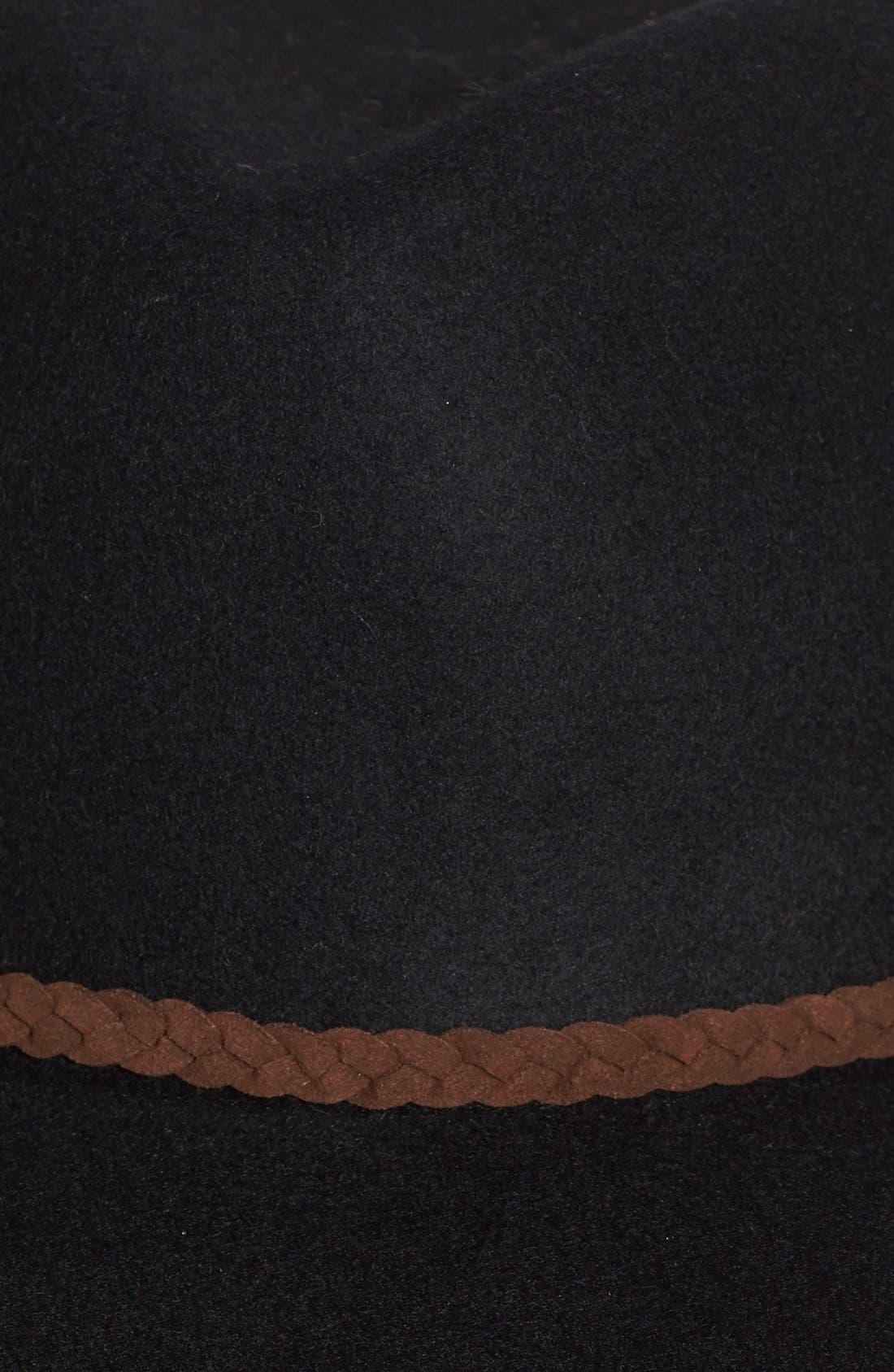 ,                             Felt Panama Hat,                             Alternate thumbnail 5, color,                             001