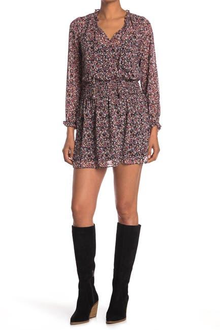 Image of Socialite Smock Waist Mini Dress