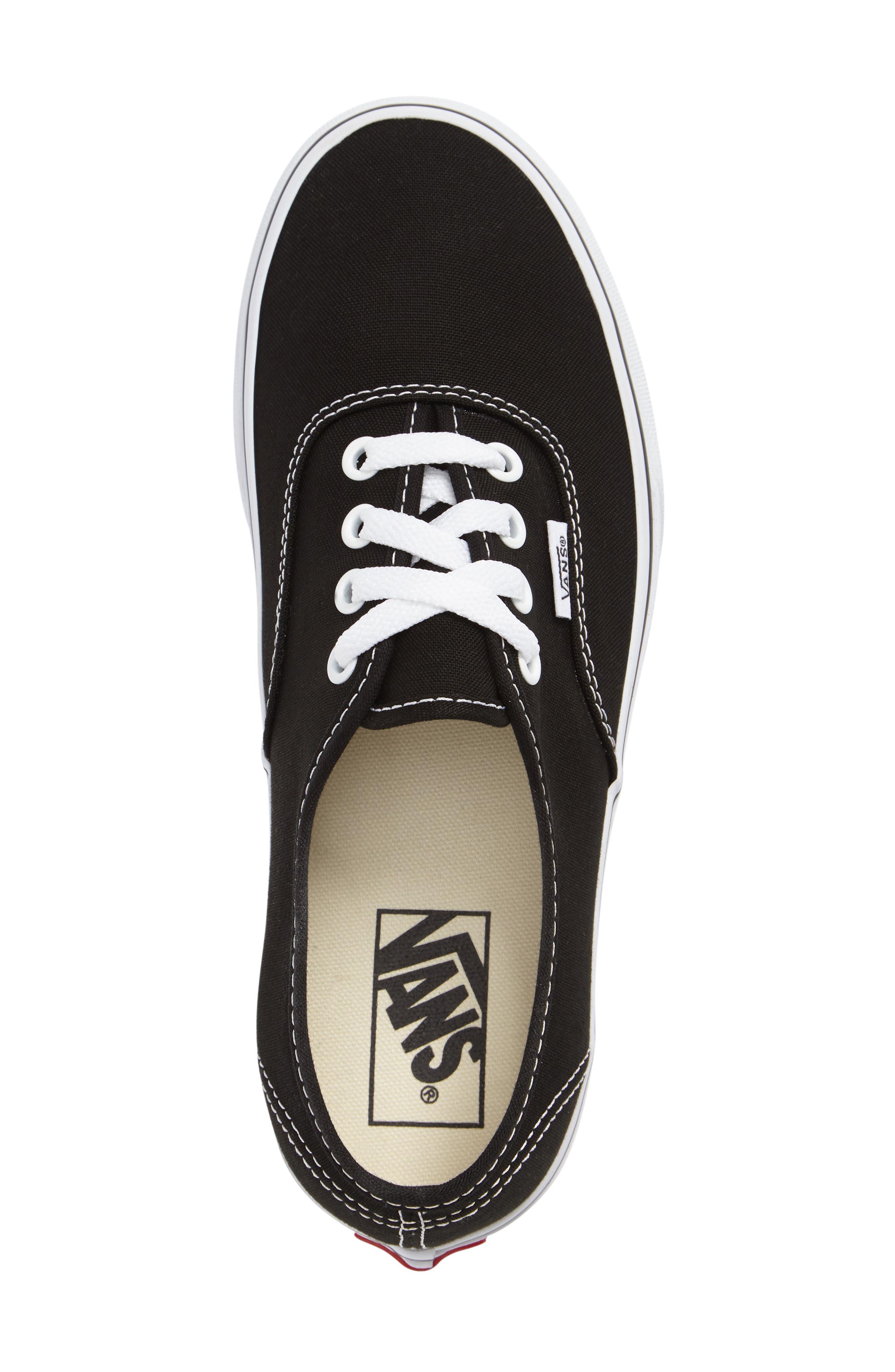 ,                             'Authentic' Sneaker,                             Alternate thumbnail 726, color,                             BLK
