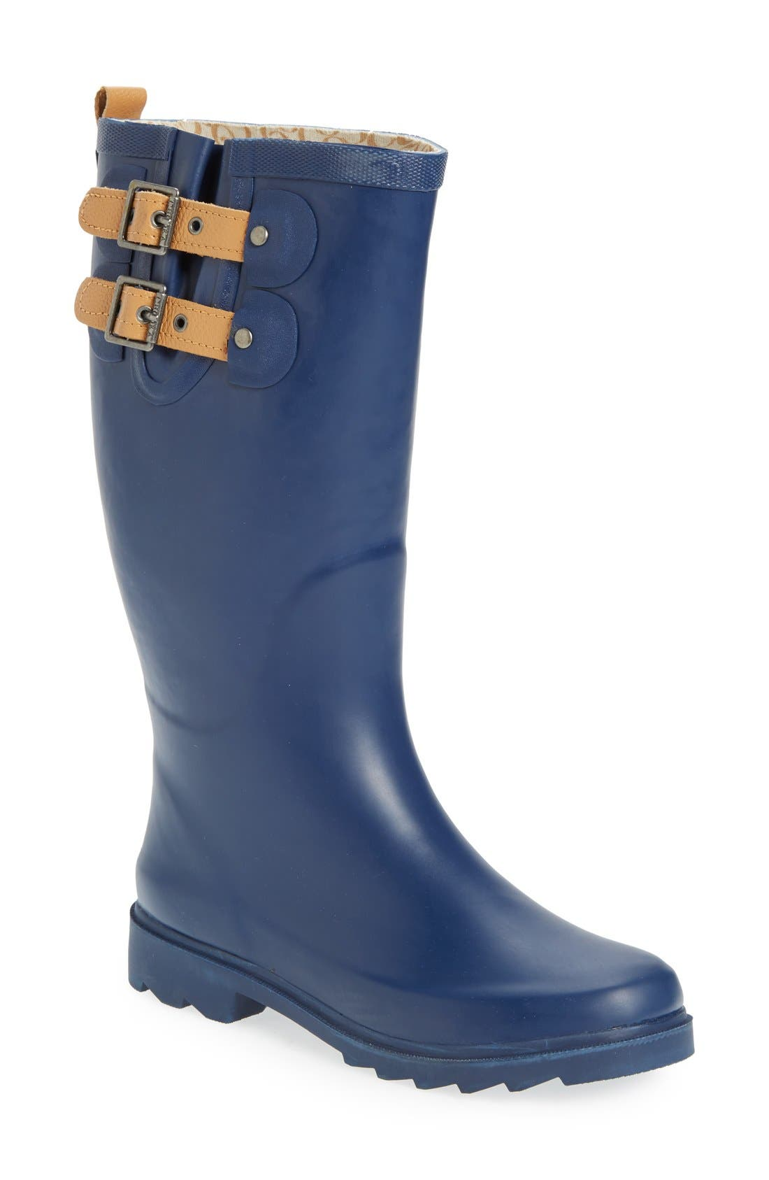 ,                             'Top Solid' Rain Boot,                             Main thumbnail 55, color,                             402