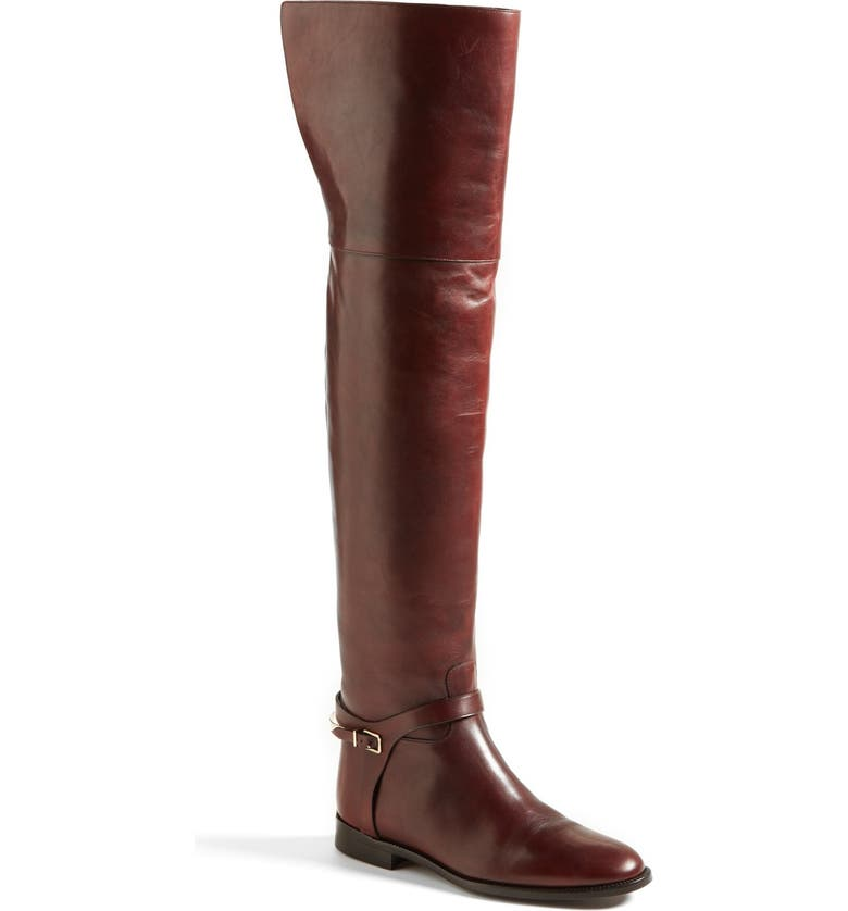 BURBERRY 'Carmack' Over the Knee Boot, Main, color, 930