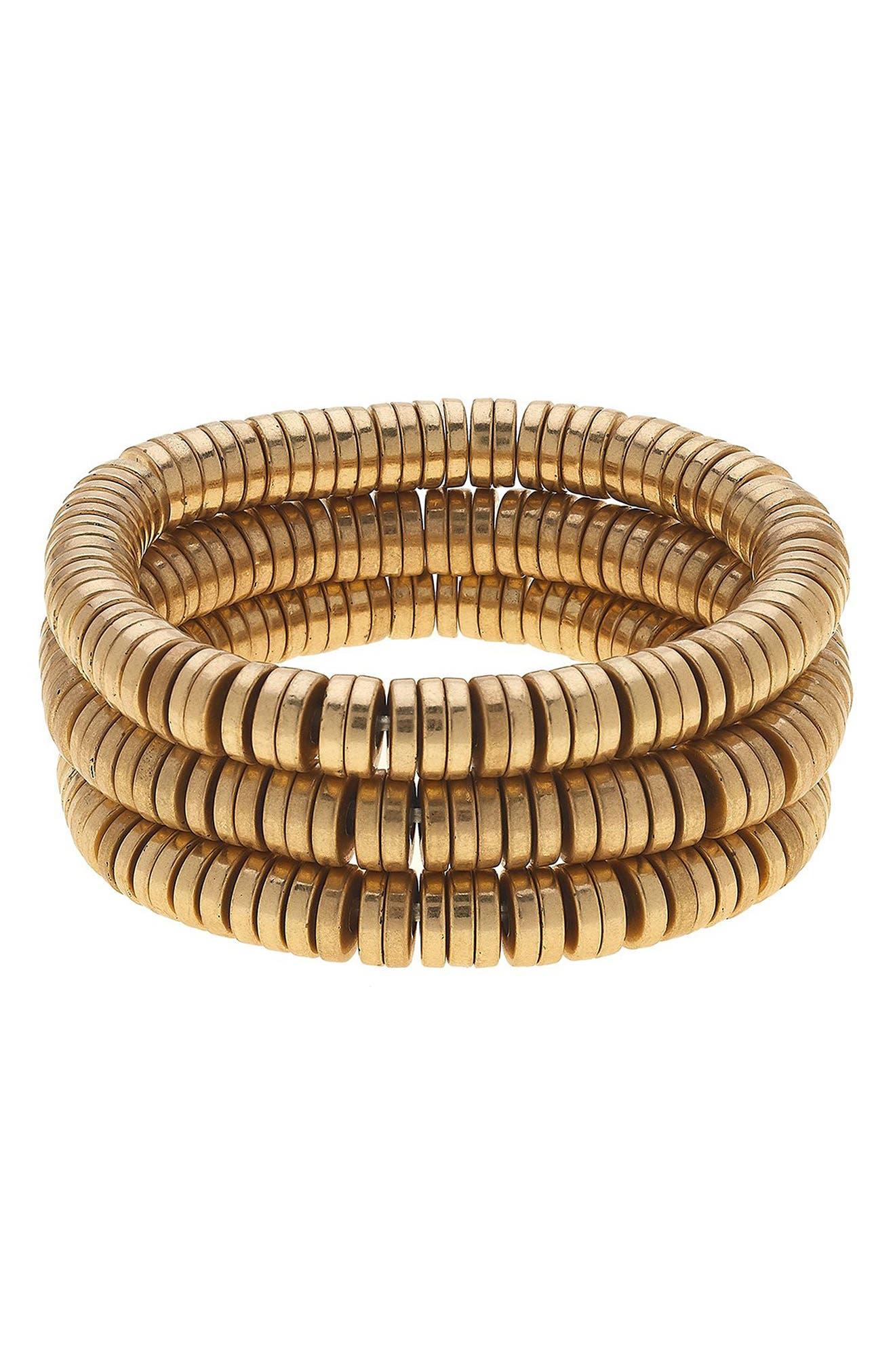 Emberly Set Of 3 Stacking Bracelets