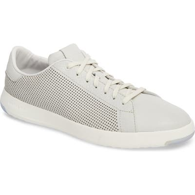 Cole Haan Grandpr? Perforated Low Top Sneaker- White