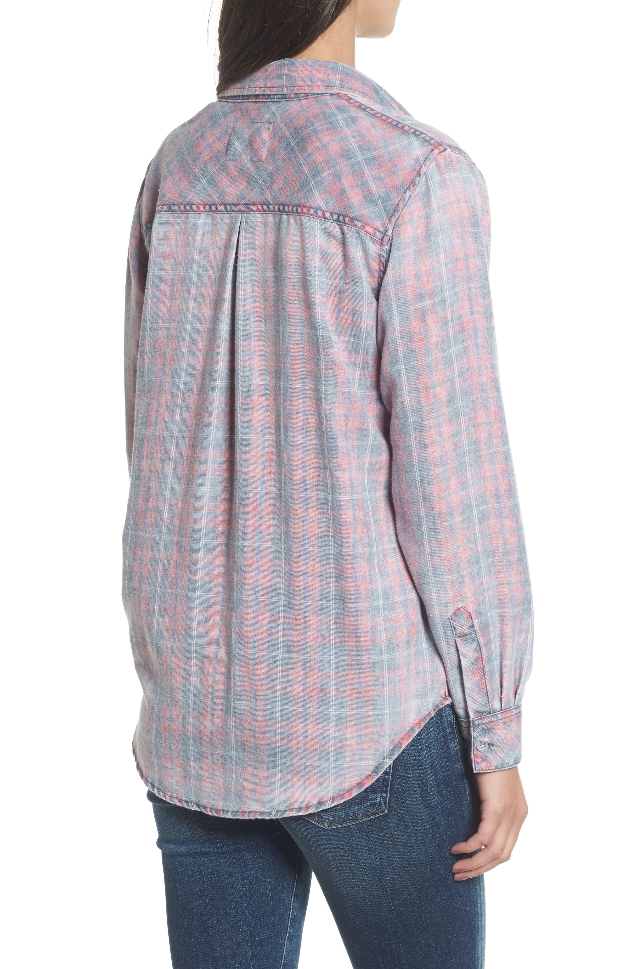 ,                             Hunter Plaid Shirt,                             Alternate thumbnail 529, color,                             021