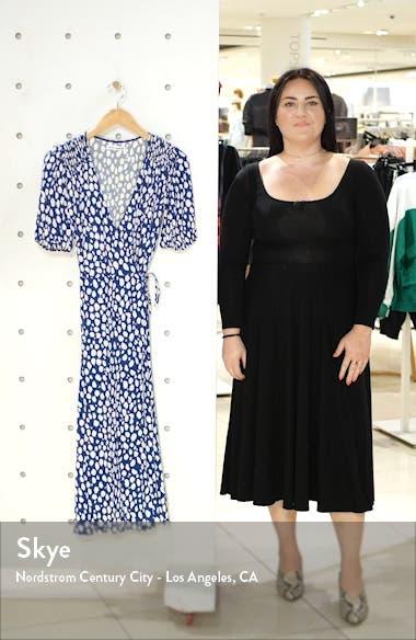 Augustina Plunge Neck Dress, sales video thumbnail