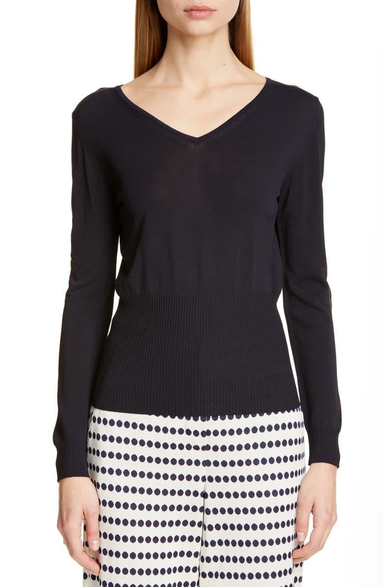 MAX MARA Moda Sweater, Main, color, ULTRAMARINE