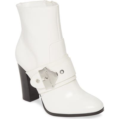 Calvin Klein Cai Bootie- White