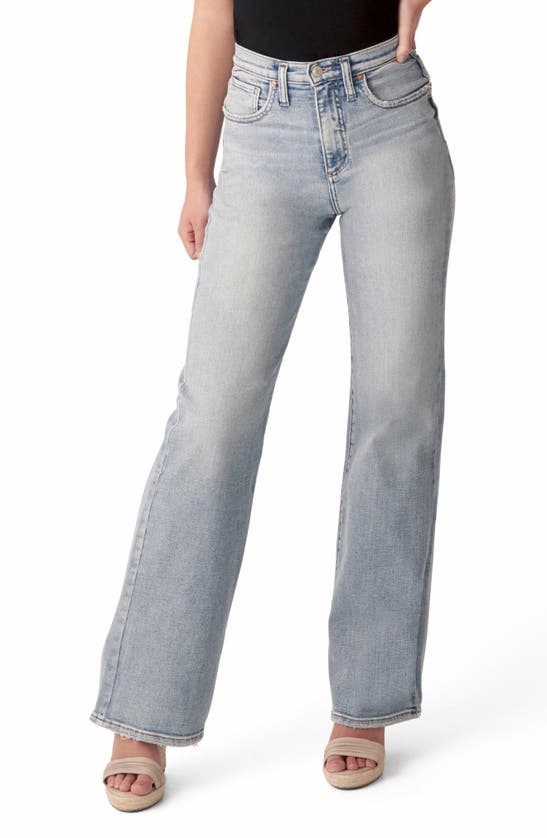 Silver Jeans Co. HIGHLY DESIRABLE HIGH WAIST TROUSER JEANS