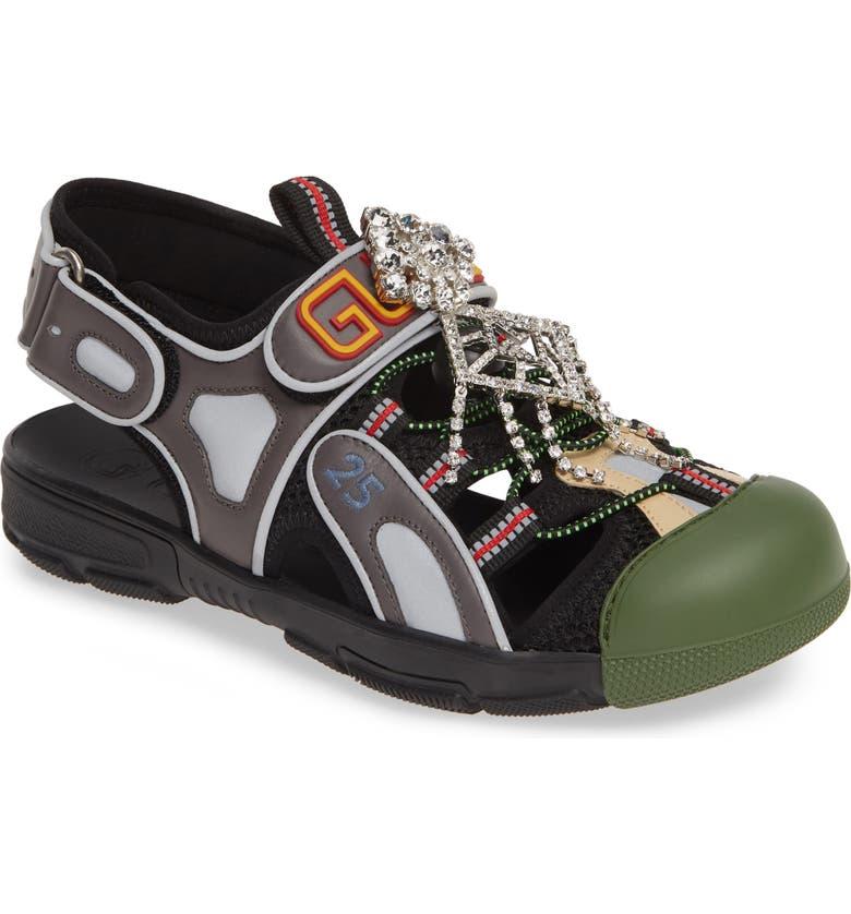b6f6d8fd2fe Gucci Tinsel Sport Sandal (Women) | Nordstrom