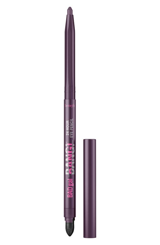 Benefit Cosmetics Badgal Bang! 24-hour Waterproof Eyeliner Dark Purple 0.009 oz/ 0.25 G
