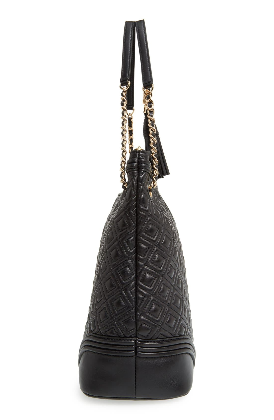 ,                             'Fleming' Leather Shoulder Bag,                             Alternate thumbnail 6, color,                             012