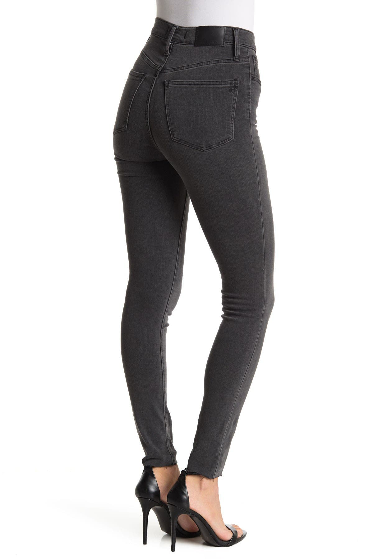 "Image of Madewell 10"" High Rise Skinny Jeans"