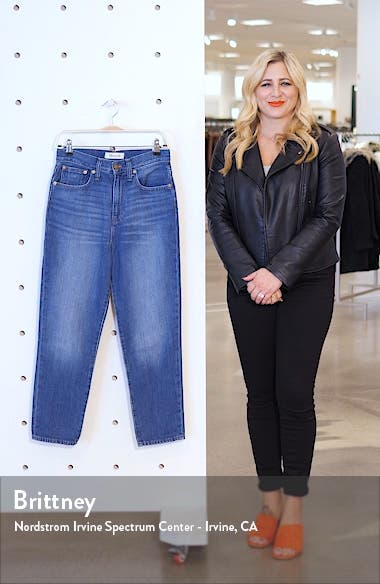 The Momjean Crop Jeans, sales video thumbnail