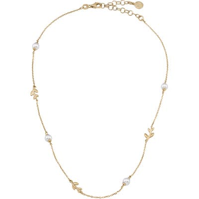 Majorica Simulated Pearl Vine Necklace